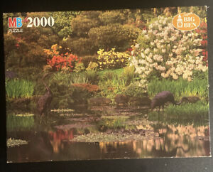 Vintage 1986 Milton Bradley Super Big Ben 2000 piece puzzle NEW!!..SEALED 4565-9