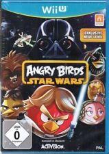 Angry BIRDS STAR WARS-Nintendo Wii U-tedesco-Nuovo/Scatola Originale