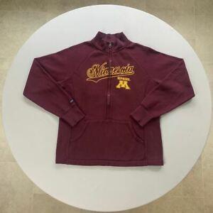 Jansport Minnesota Gophers Maroon Zip-up Sweatshirt    Size Men's Medium