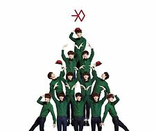 EXO [Miracles in December] Korean Ver. Special Album CD+Snowball Pop-up+Booklet