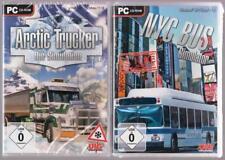 Arctic Trucker Die Simulation Truck Frachtzüge LKW + NYC Bus Simulator PC Spiele