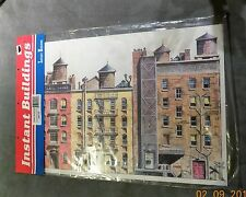 Walthers Instant Buildings Back Street Structures 949-722 NIP