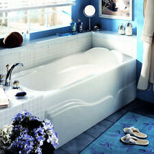 NEPTUNE DAPHNE 60x32 ACRYLIC RECTANGLE BATH TUB WITH APRON + WHIRLPOOL SYSTEM