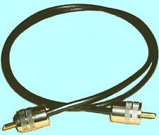 3,0 m RG 58 Koaxialkabel 50 Ohm mit PL-PL-Stecker für Funk sowie Scannerantenne
