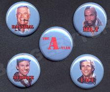 A-Team five Button Badge Pin set !