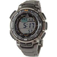 Casio Men's PAG240T-7 Pathfinder Triple Sensor Multi-Function Titanium Watch