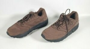 Men's, Brooks, Solid, Brown, Suede, Low Top, Lace Up, Casual, Sneaker, SZ 10