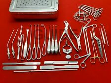 Craniotomy Surgery Instruments Set Of 40 Pieces With Ss Box