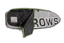 SURFBOARD FLY BAG BY KKROWS. BOARD BAG. ROLL UP PILLOW. POCKET + HANDLE.