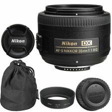 Nikon NIKKOR 35mm f1.8G AF-S DX Lens for DSLR Cameras