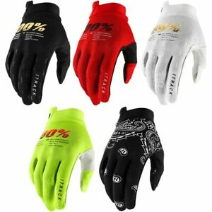 100% iTrack Gloves SP21 MTB Mountain Bike DH Enduro Trail Full Finger Protection