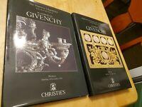 M. Hubert de Givenchy, Monaco, Saturday, December 4, 1993, Christie's, vols I&II