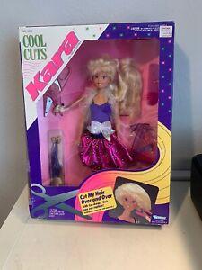 1990 Kenner Cool Cuts Kara Doll Brand New