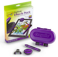 Crayola DigiTools Effects Pack Draw, Stamp, Colour Change & Glitter On Your iPad