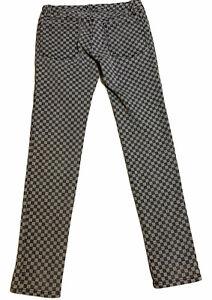 Tripp NYC Checkered Skinny Jeans