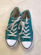 Converse All Star Green Sneakers Shoes Men's Sz 4 Women's Sz 6