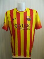 5+/5 FC Barcelona 2013/2014 away Sz XL Nike shirt jersey maillot soccer football