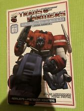 Transformers More Than Meets The Eye Official Guidebook Volume 1 TPB Dreamwave