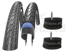 2x Neumático de la Bicicleta Schwalbe Maratón Plus 40-622 (28 x 1.50) + 2x DV 17