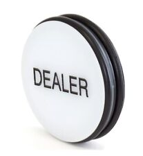 3-Inch Double-Sided Casino Grade Dealer Puck Button For Poker Games 2 Pack