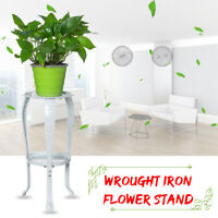 2 Tier Metal Flower Plant Pot Shelf Stand Garden Indoor Outdoor Display Rack