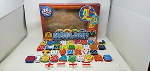 Lakeshore Learning Alphabots Transforming Robot Alphabet Complete 26 Letters 0-9