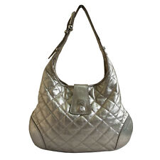 CLEARANCE: BURBERRY BROOKE GOLD LEATHER HOBO BAG