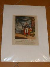 Z109 Grafik Lithographie Willem I. König Niederlande Prinz Nassau Herzog
