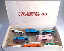 "MATCHBOX g-3 ""Vacation Set"" 1966 GIFTSET RARE Scatola Bianca (USA)"