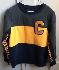 Converse Boys Grey/Yellow/Blue sweatshirt Size M(10-12)