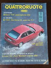 Quattroruote n 464 giugno 1994 - BMW Serie 7, Audi A8, Ferrari F355