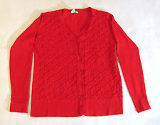 High Quality Vila Milano Women's Red Sweater Size M