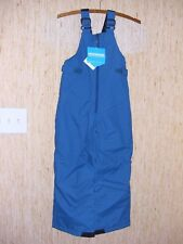 Columbia Snowslope II Snow Bib Youth Small S Blue 8 Boys Girls Snowbib Ski NEW