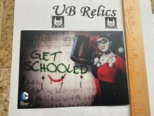 DC COMICS 20% OFF SIDESHOW COLLECTIBLES GIFTCODE JOKER HARLEY QUINN POST CARD