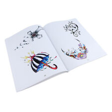 108 Pages Tattoo Flash Art Designs Manuscript Sketch Line Book Very Nice