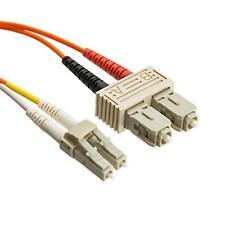 eDragon ED87294 Fiber Optic Cable, LC/SC, Multimode, Duplex, 50/125, 20m