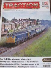 Traction Magazine Issue 215 November 2013