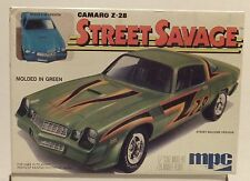 MPC 1979 Camaro Z -28 Street Savage Street Machine/Stock Model 1-0737 BOX ONLY