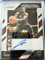 JR Smith 2018-19 Prizm Auto Autograph Panini Cavs Lakers J.R. ss-jrs