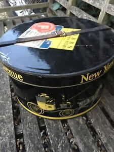Vintage Dobbs Fifth Avenue New York Cardboard Hat Box SHIP 🛳 WORLWIDE