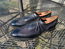 Black Allen Edmonds Strawfut Spectators - 12 B