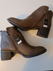 Next Brown Ankle Boots Size 9