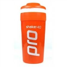 5 x Shaker Pro 40 Orange for Health, Gym, Fitness & Sports Performance