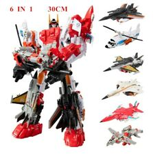 Superion Transformer action figure model toy 5in1 or 6in1 robot planes Autobots