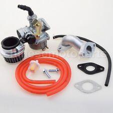 125cc 110cc 90cc 70cc 50cc Taota19mm Carburetor PZ19 Carb Air Filter Intake Pipe