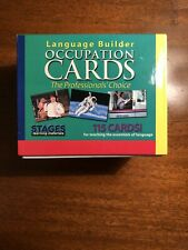 Stages Learning Materials Language Builder Occupation Cards - Autism
