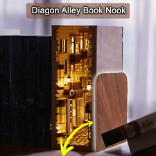 Diagon Alley Book Nook - Book Shelf Insert DIY Assembly Kit