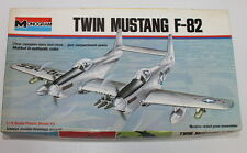 Vintage 1/72 Monogram # 7501 F-82 Twin Mustang, open but complete