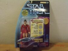 "Star Trek DS9  Playmates Toys Lt.Commander Jadzia Dax Tribble-Ations1997 6""in."