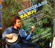 Peter Wernick Bluegrass Banjo 1974 LP Music Minus one Banjo